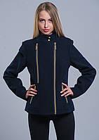 Пальто женское №1 (синий)