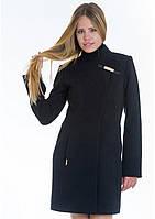 Пальто женское №8 (чёрный), фото 1
