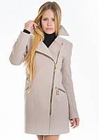 Пальто женское №7 (бежевый), фото 1