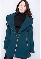 Пальто женское №46/1 (зелёный)