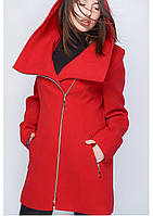 Пальто женское №46/1 (красный)