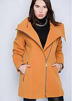Пальто женское №46 (горчица)