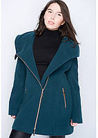 Пальто жіноче №46 (зелений)