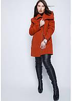 Пальто женское №46 (рыжий)