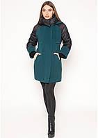 Пальто женское №44 (зелёный), фото 1