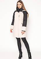 Пальто женское №44 (бежевый)