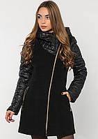 Пальто женское №43/1 ЗИМА (чёрный)