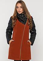 Пальто женское №43/1 ЗИМА (рыжий)