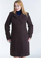 Пальто женское №22 ЗИМА (шоколад)