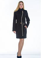 Пальто женское №4 (чёрный), фото 1