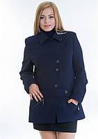 Пальто женское №40 ЗИМА (синий), фото 1