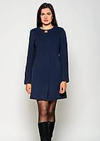 Пальто жіноче №41 (синій)