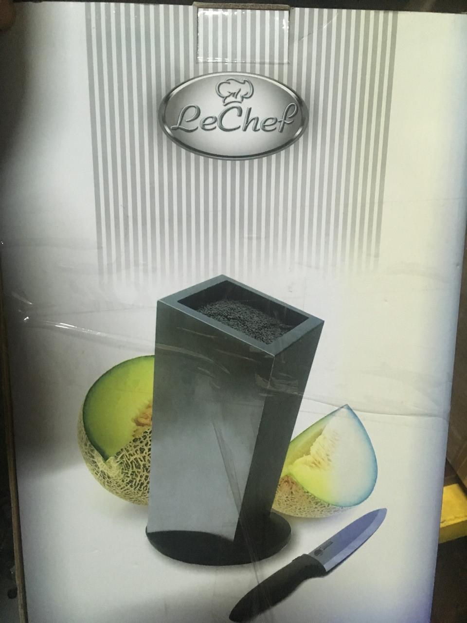 Подставка для ножей LeChef вращающаяся