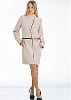 Пальто женское №4 ЗИМА (бежевый), фото 1