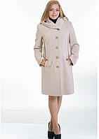 Пальто жіноче №9 (бежевий), фото 1
