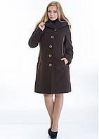 Пальто женское №9 (шоколад), фото 1