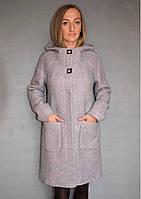 Пальто жіноче №52 (рожевий)