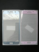 Защитное стекло 3D full cover для Samsung Galaxy A7 2017 (A720)