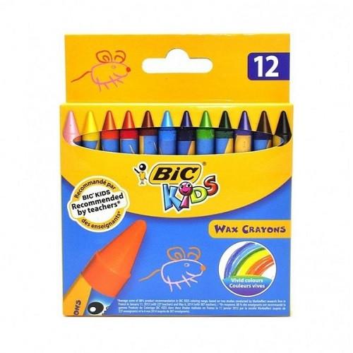 Цветные мелки Bic Kids Max Crayons