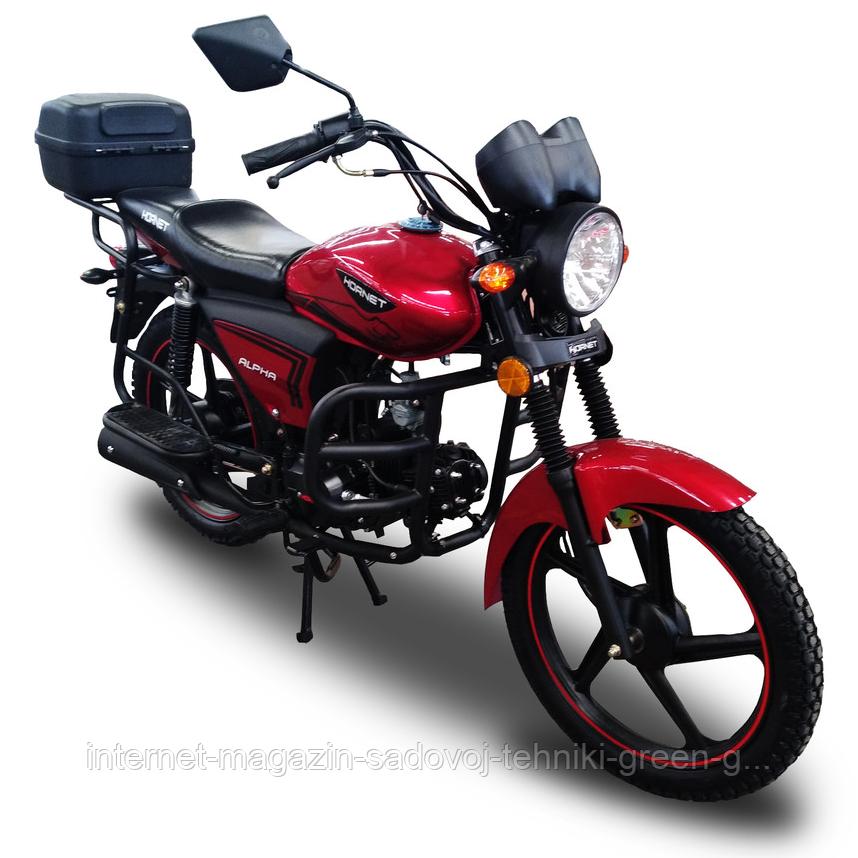 Мотоцикл Hornet Alpha 125 см3 (красный) оригинал