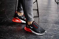 Кроссовки мужские в стиле Nike Air Max 270 Red and White (Реплика ААА+), фото 1
