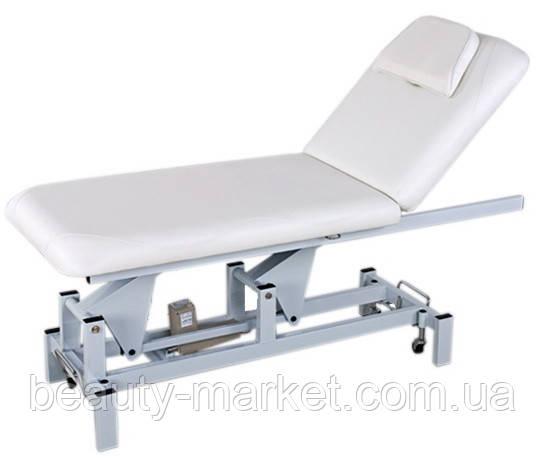 Стол для массажа 2-х секционный с электрической регулировкой высоты и положения спинки - Бьюти-Маркет в Одессе