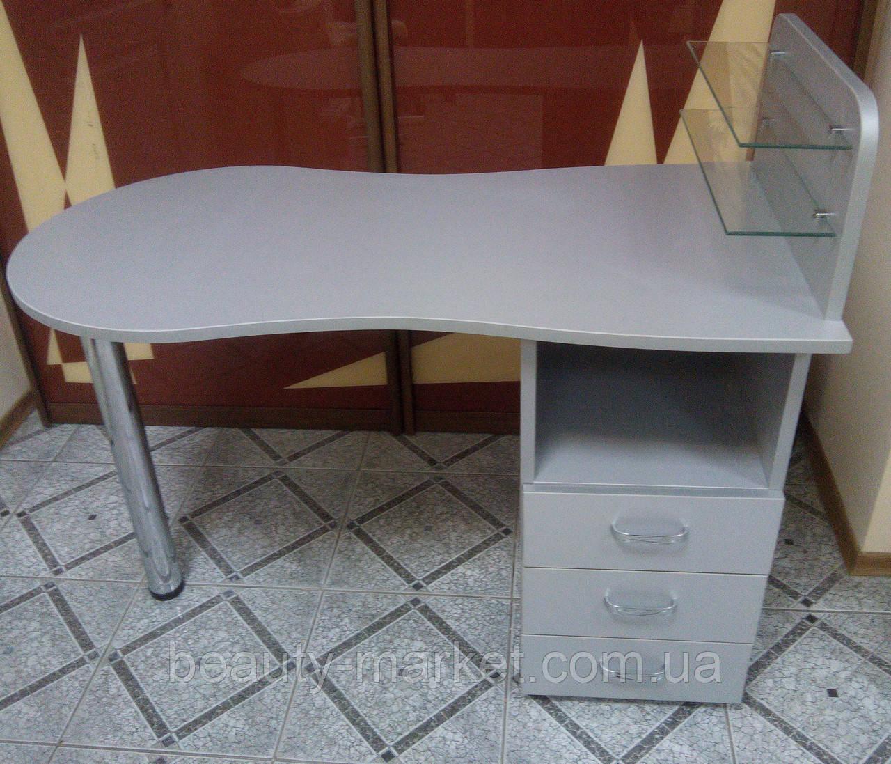Маникюрный стол Стандарт Алюминий