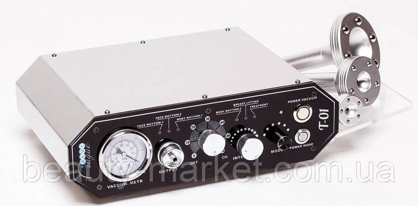 Аппарат алмазной дермабразии и вакуумной терапии Т-01 (2 в 1)
