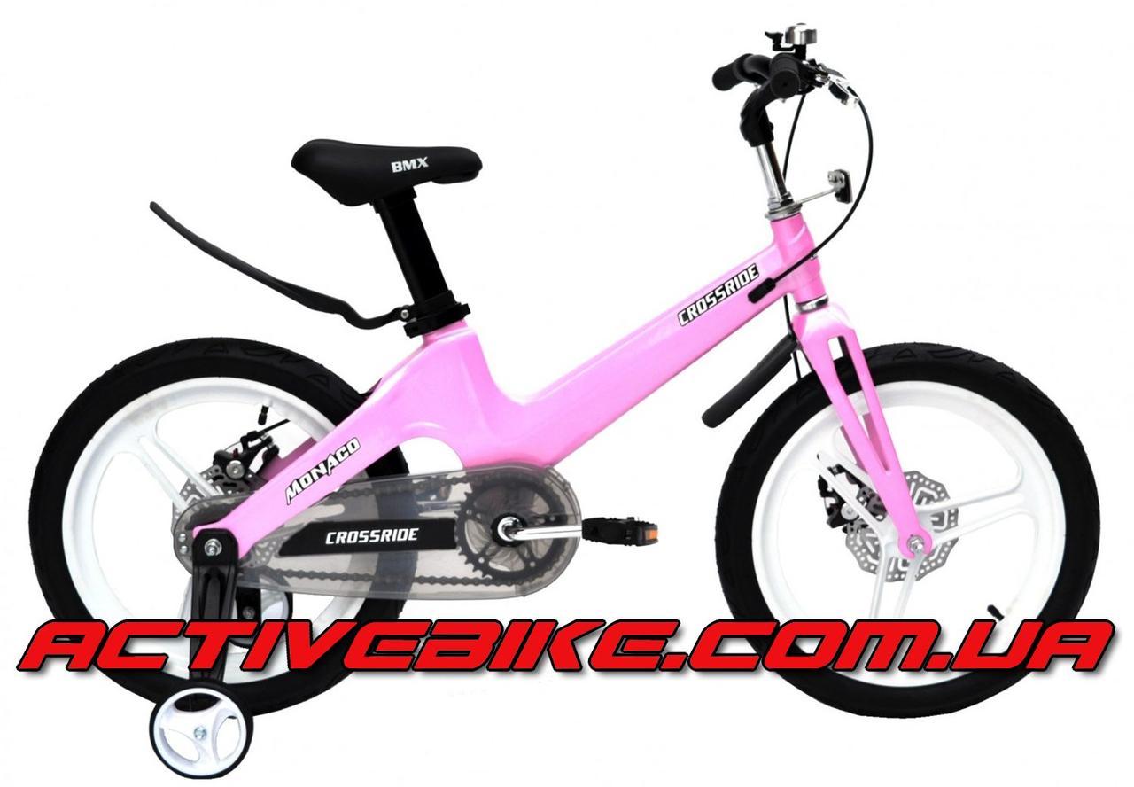 "Велосипед детский CROSSRIDE MONACO MG 18""."