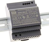 Преобразователь HDR-100-24N, фото 1