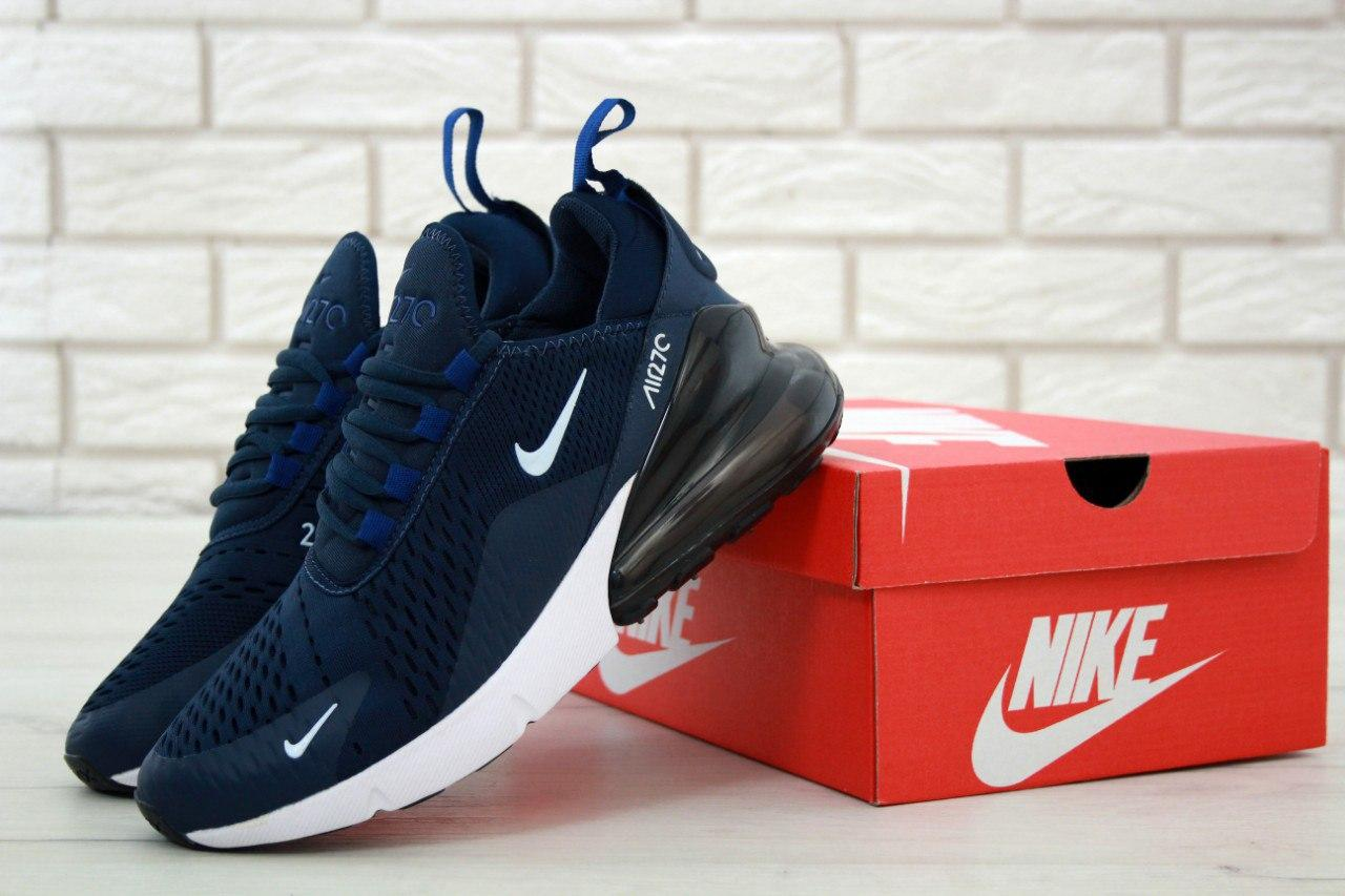 8db41f6e7 Кроссовки Nike Air Max 270 Navy Blue White - Интернет магазин обуви «im- РоLLi