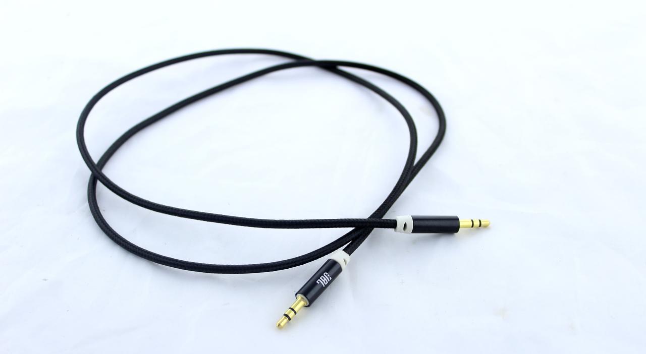 AUX кабель JBL 3.5 mm Jack - Jack, Аудіо подовжувач 3.5 мм
