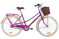 "Велосипед Dorozhnik Comfort Female PH 28"" сиреневый"