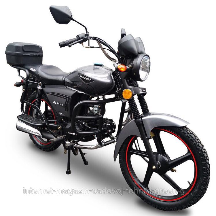Мотоцикл Hornet Alpha 125 см3 (графит) оригинал