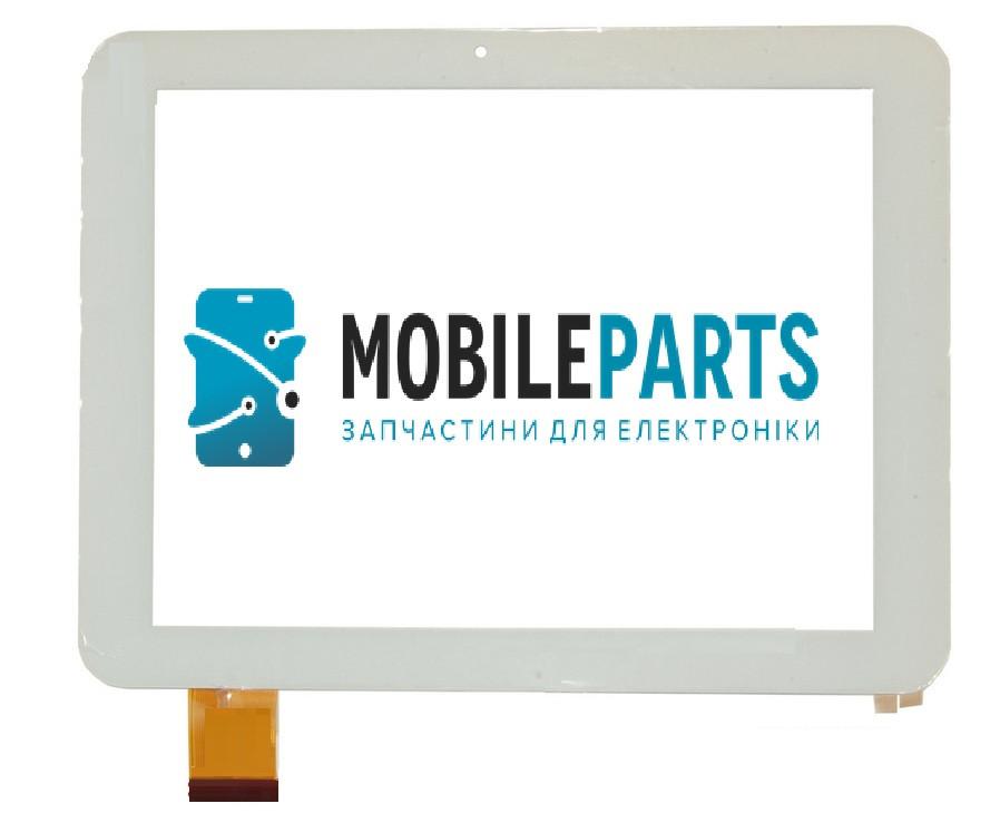Сенсор (Тачскрин) для планшета  E-C8020-02 (196х150мм, 40pin)(Белый)