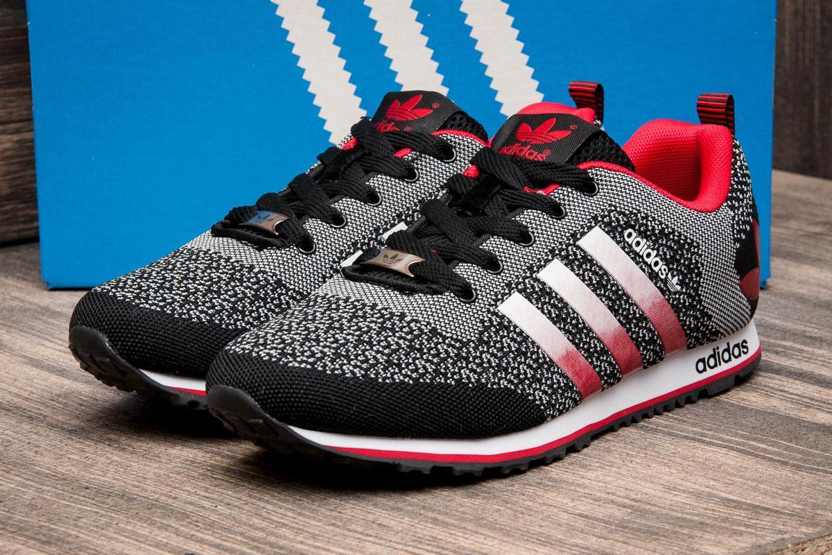 Кроссовки мужские Adidas, черные (2484-3) размеры в наличии ► [  44 (последняя пара)  ]