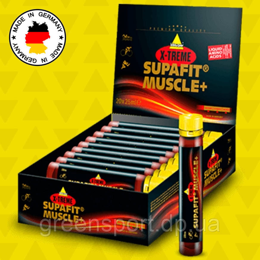 Аминокислоты Inkospor X-Treme Supafit Muscle (20 х 25 мл) Натуральный