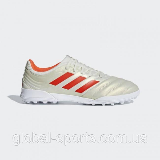 52f4cdd1 Мужские футбольные бутсы (сороконожки) Adidas Copa 19.3 TF(Артикул:BC0558) -