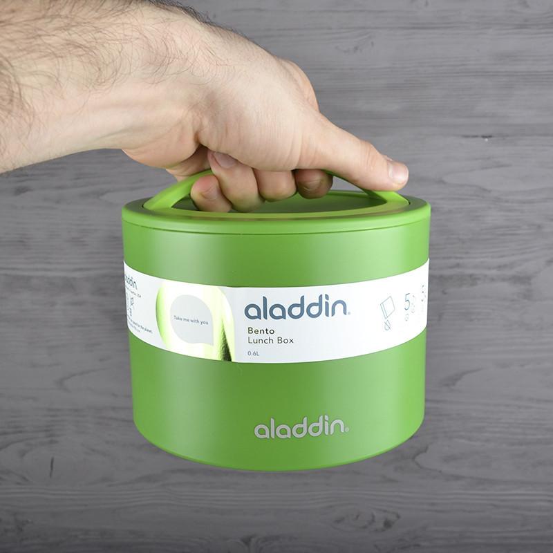 Ланч-бокс Aladdin Bento 0,6 л зеленый