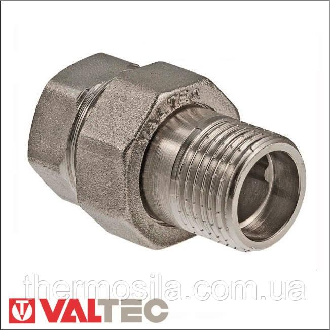 """VTr.341.N Сгон разъемный VALTEC (никель) 3/4"""""""