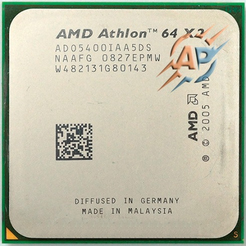 Процессор AMD Athlon 64 X2 5400+ (2800MHz, сокет AM2) ADO5400IAA5DS