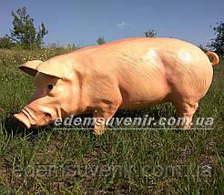 Садовая фигура Свинья большая и Хрюша, фото 3