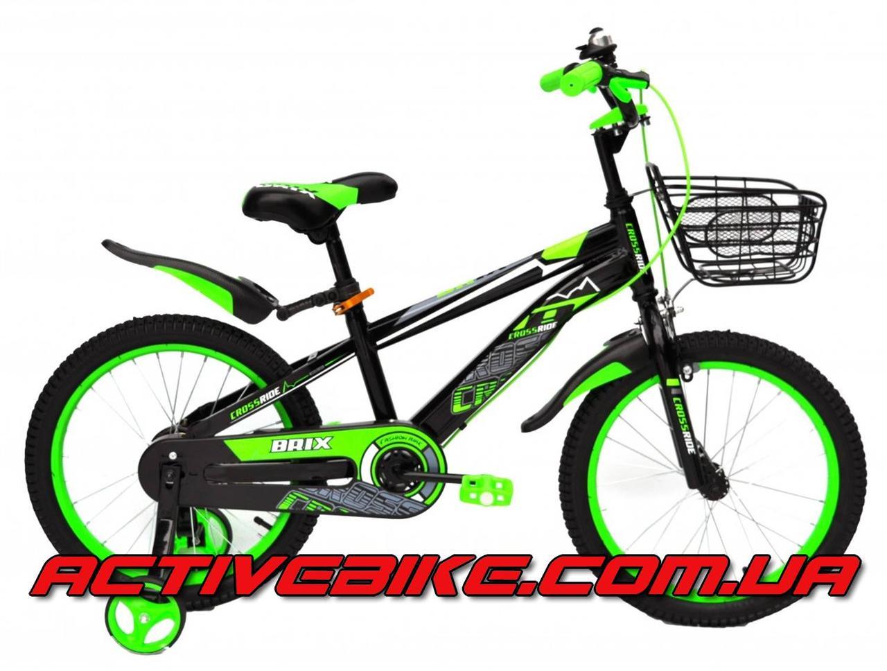 9dfc316496df8e Детский велосипед Crossride BRIX 18