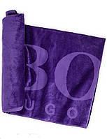 Полотенце пляжное HUGO BOSS 100*185 см Фиолетовый