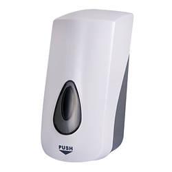 Дозатор для засобів дезинфекції з розпилювачем Sanela SLDN 07, об'єм 1 л., білий пластик ABS /