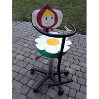Детское парикмахерское кресло Маша