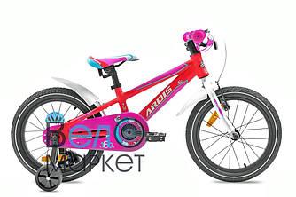 """Велосипед детский ARDIS Topic ST 16"""" Красный + боковые колеса"""