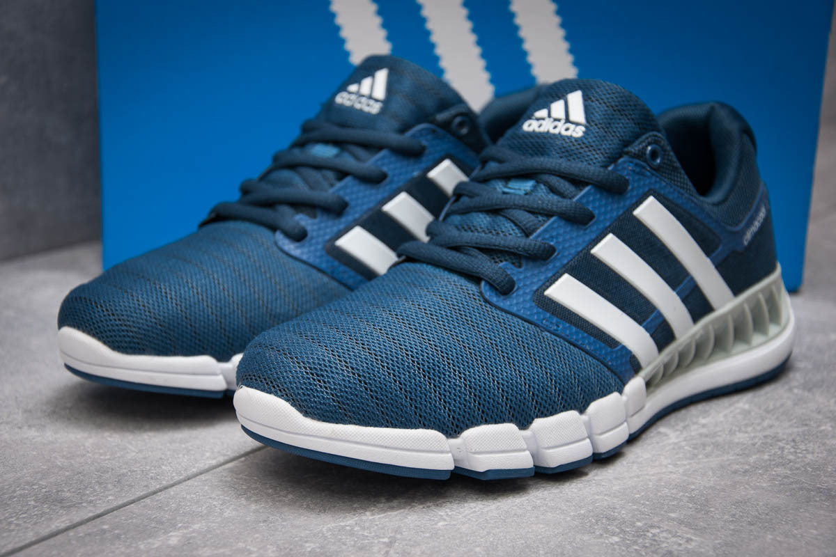 Кроссовки мужские  Adidas Climacool, синий (13403),  [  44 (последняя пара)  ]