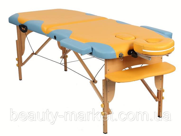 Массажный стол MIRACLE PLUS yellow/blue