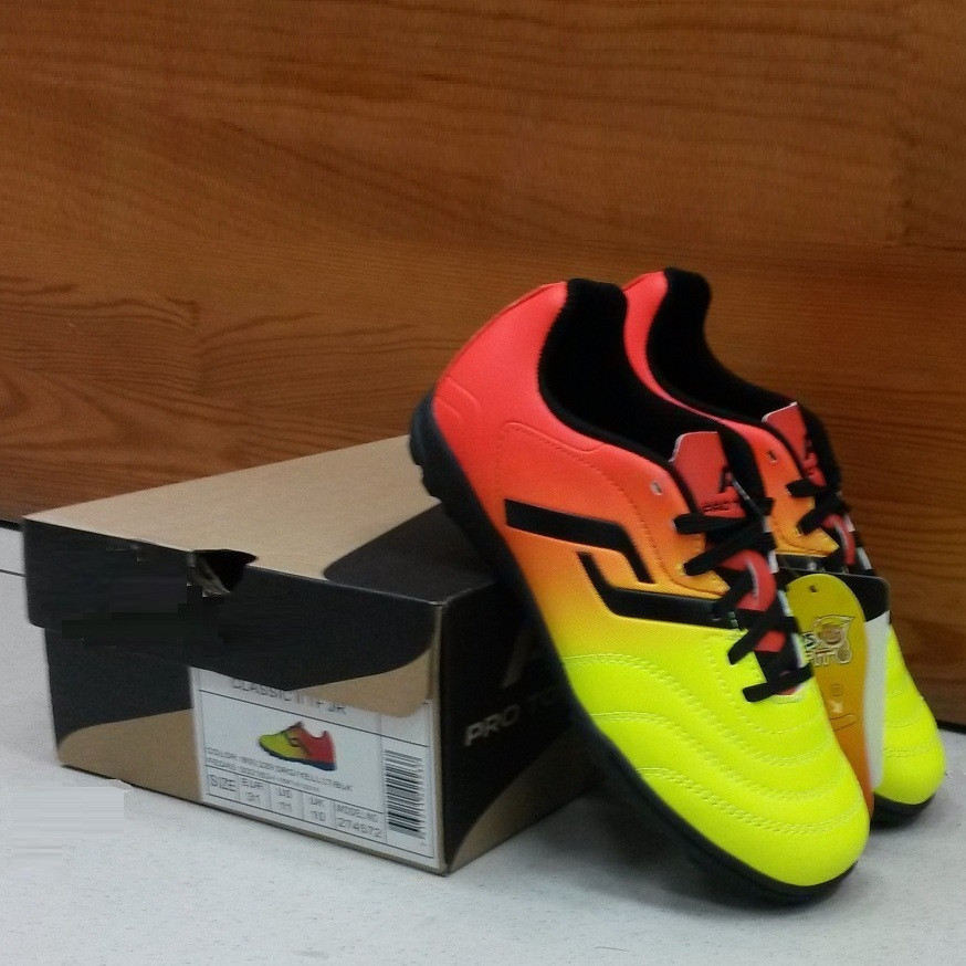 Детская футбольная обувь (многошиповки) Pro Touch Classic II TF JR